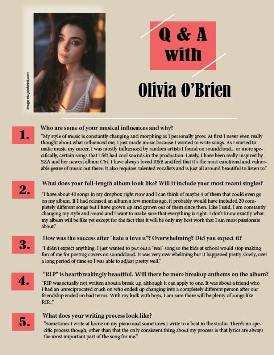 QA Olivia Obrien